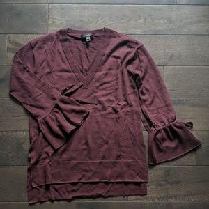 Burgundy J.Crew sweater
